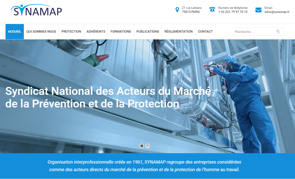 AJUVA Safety rejoint le SYNAMAP
